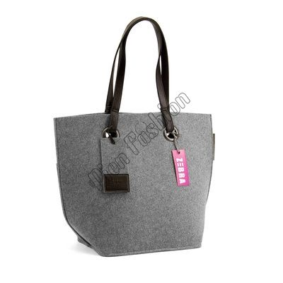 Natural Trends Bestel Direct Vilt Grijs Grey Tas Zebra Bag ATwdxqII